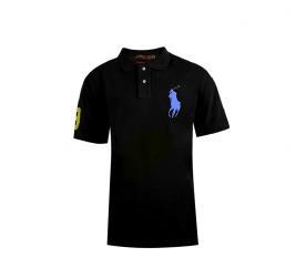 Ralph Lauren CUSTOM-FIT Black Big Pony Blue