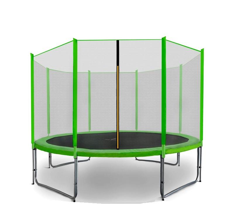 Aga SPORT PRO Trampolína 335 cm Light Green + ochranná sieť