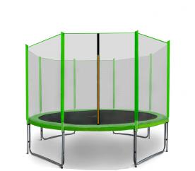 Aga SPORT PRO Trampolína 335 cm Light Green + ochranná síť