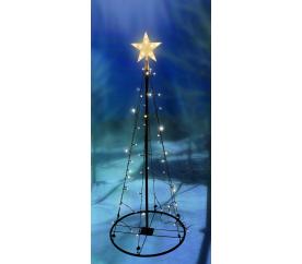 Linder Exclusiv Világító karácsonyfa 70 LED 120 cm