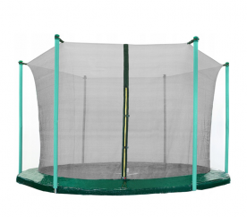 AGA 305 cm (10 ft) 6 rudas trambulin belső védőháló Black