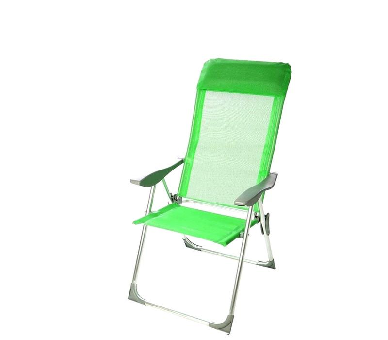 Linder Exclusiv Zahradní křeslo 5-WAY MC372211LG Lime Green