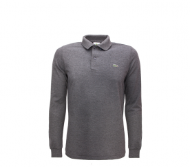 Lacoste Tričko POLO LANG Dark Grey