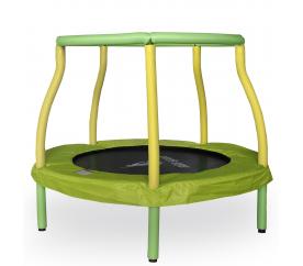 Aga Kindertrampolin 116 cm Hellgrün / Gelb