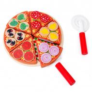 Aga4Kids szeletelt fa pizza PIZZA TOY
