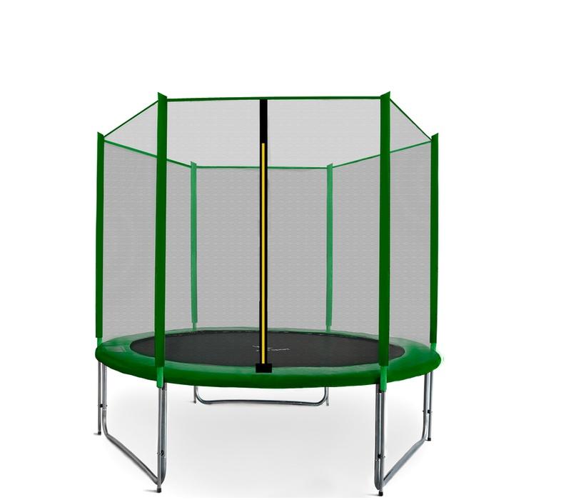 Aga SPORT PRO Trampolína 150 cm Dark Green + ochranná síť 2018