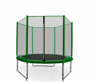 Aga SPORT PRO Trampolína 150 cm Dark Green + ochranná sieť