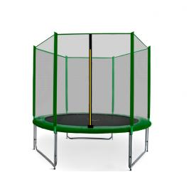 Aga SPORT PRO Trampolína 150 cm Dark Green + ochranná síť