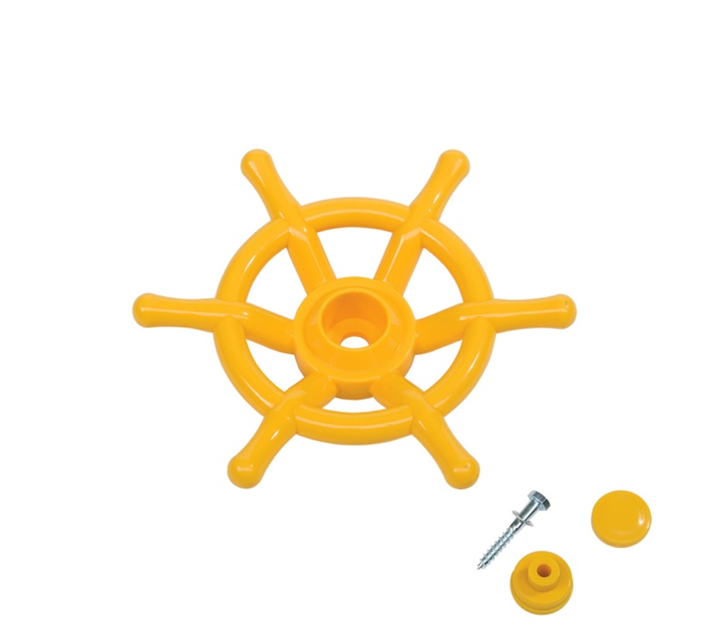 AXI Kordmidlo STEERING WHEEL Yellow