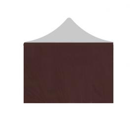 Aga oldalfal 3x3 m POP UP Brown