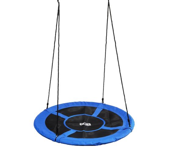 Aga Závěsný houpací kruh 120 cm Modrý