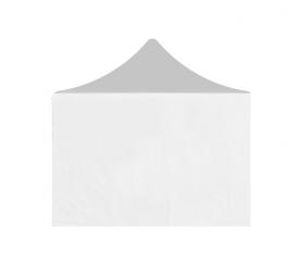 Aga oldalfal PARTY 2x2 m White
