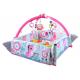 Aga4Kids Hrací deka s mantinelem 5v1 Pink