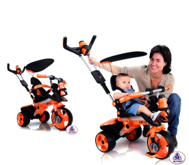 INJUSA CITY Orange 326 gyerek tricikli