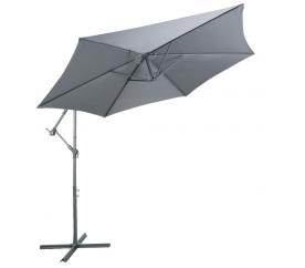 Linder Exclusiv Záhradný slnečník MC2010 300 cm Dark Grey