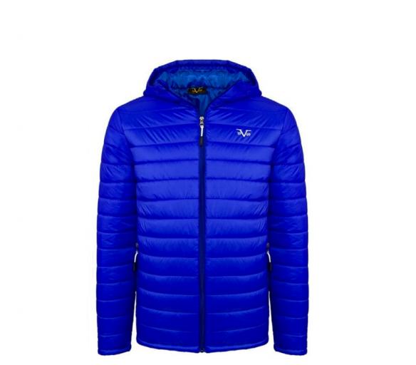 Versace 19.69 Pánská bunda s kapucí C74 Blue Royal