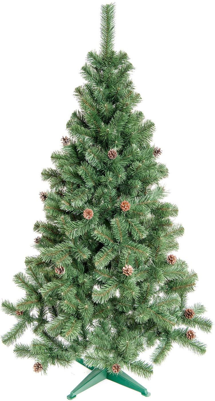 Aga Vánoční stromeček se šiškami JEDLE 160 cm