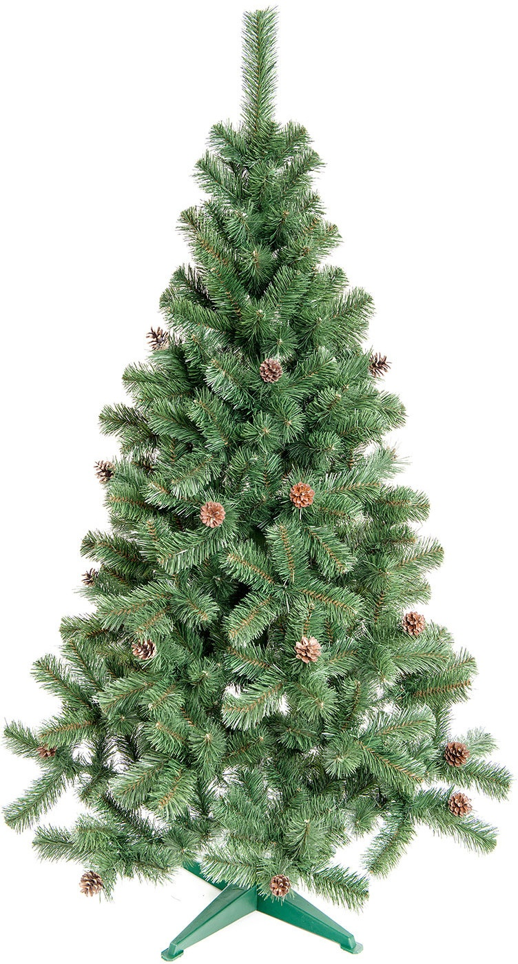 Aga Vianočný stromček sa šiškami JEDĽA 160 cm