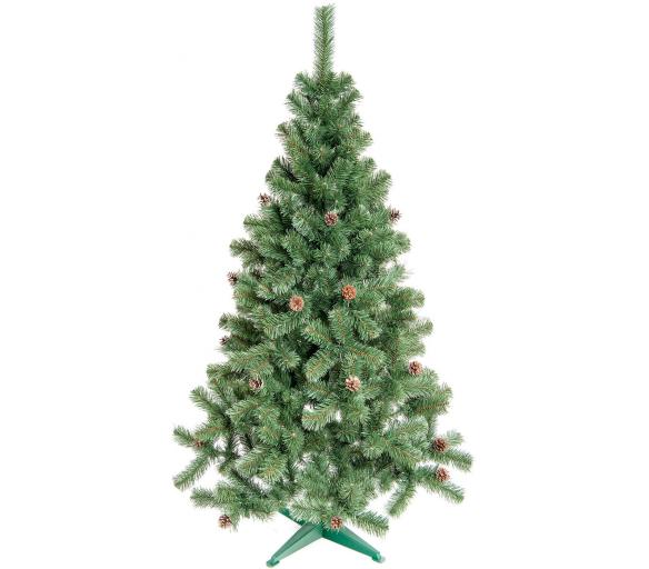 Aga Vánoční stromeček Jedle s šiškami 160 cm