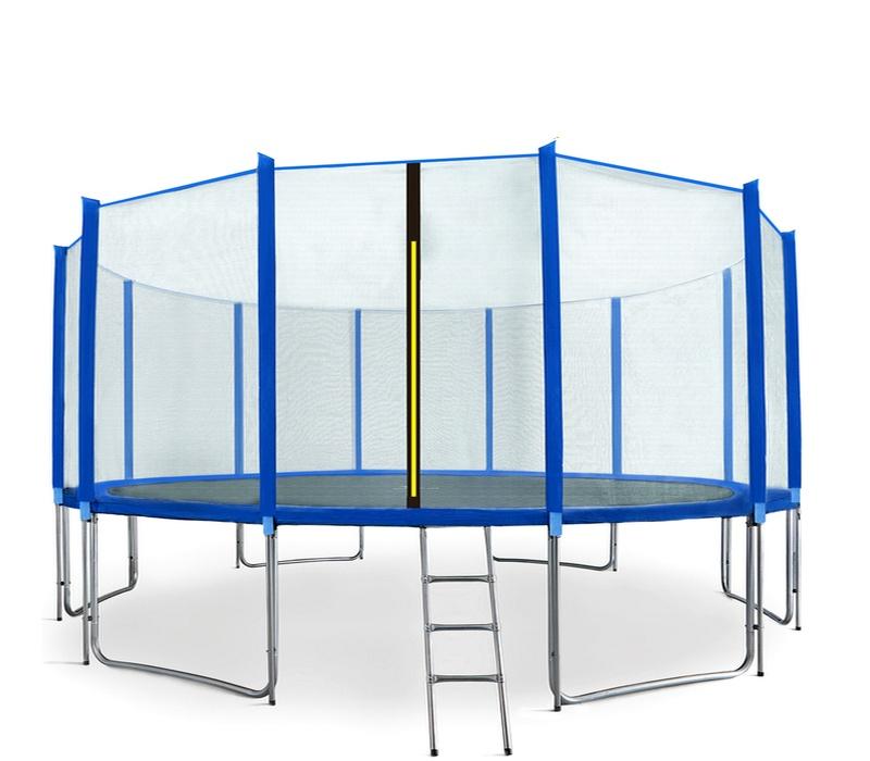 Aga SPORT PRO Trampolína 500 cm Blue + ochranná síť + žebřík + kapsa na obuv + krycí plachta