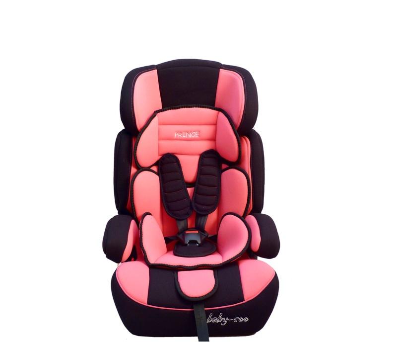 Baby Coo autosedačka PRINCE 2018 Black Pink