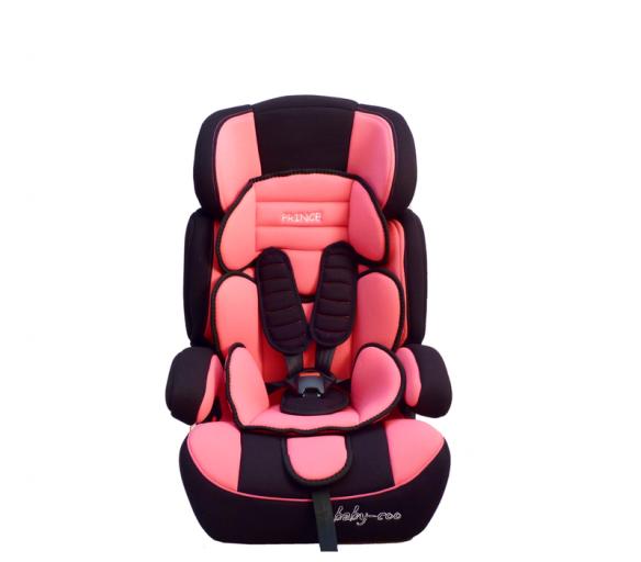 Baby Coo autosedačka PRINCE Black Pink - NENÍ HLEDAT