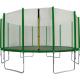 Aga SPORT TOP Trampolína 518 cm Dark Green + ochranná síť