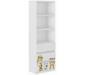 Wooden Toys Dětská knihovna Mini ZOO B-3