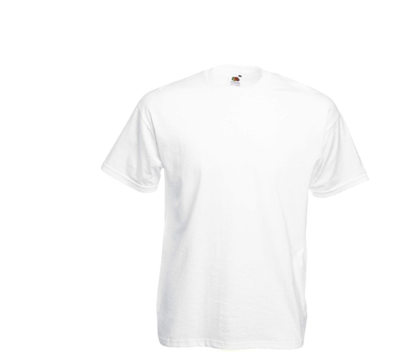 Fruit Of The Loom Tričko VALUEWEIGHT T White