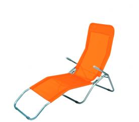 Linder Exclusiv Zahradní lehátko SIESTA MC372171O Orange