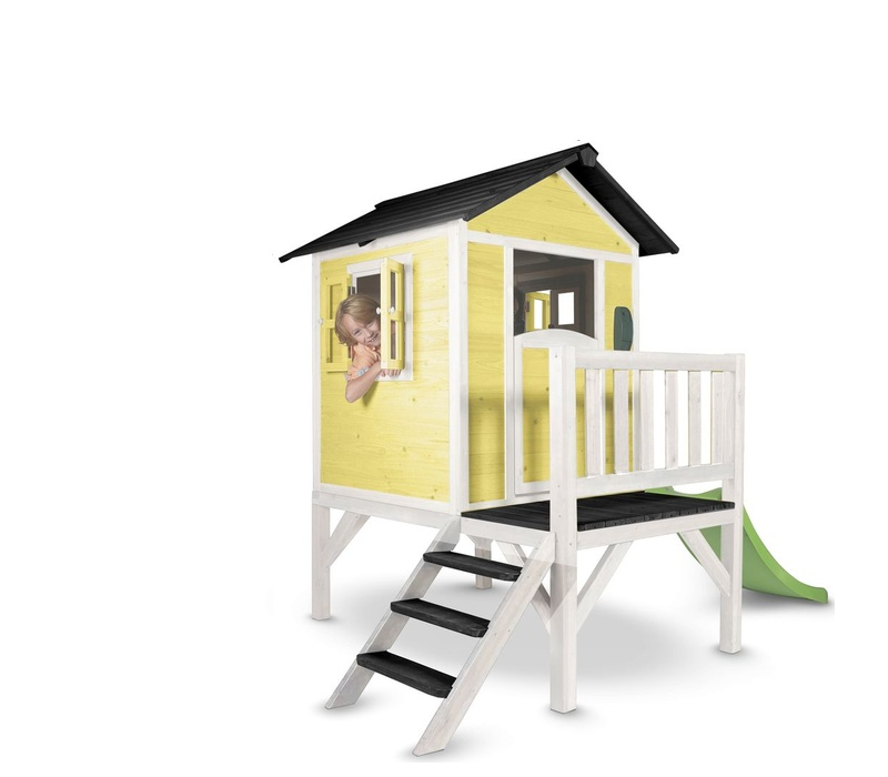 Axi Hrací domček LODGE-XL Yellow