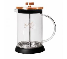 Konvička na čaj a kávu French Press 600 ml Rosegold collection - BERLINGERHAUS