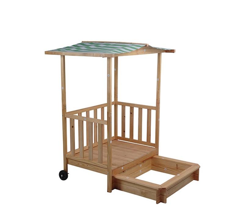 Aga4Kids Dětské pískoviště s verandou