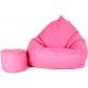 Aga ülőzsák XXXL + lábtartó rózsaszín