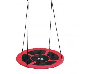 Aga Závěsný houpací kruh 120 cm Červený