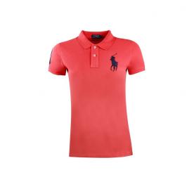 Ralph Lauren Koszulka Polo SKINNY-FIT Big Pony Red