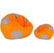 Aga ülőhely BALL Szín: narancssárga - szürke