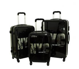 RGL Cestovní kufry 5188 XXL,XL,L NYC