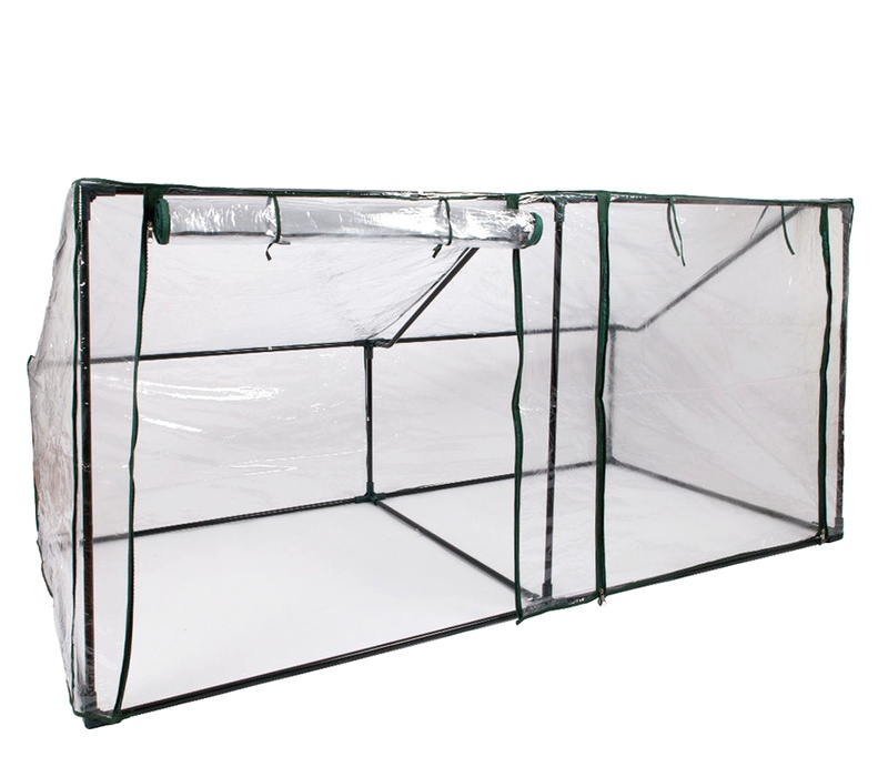 Linder Exclusiv Zahradní fóliovník MC4304 190x89x50/90 cm