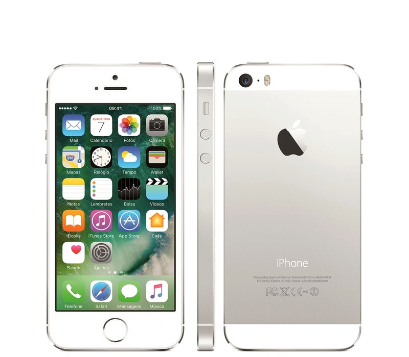 Apple iPhone 5S 32GB Silver Kategorie: B