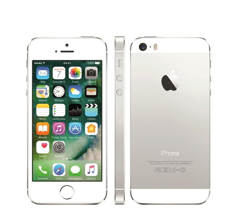 Apple iPhone 5S 32GB Silver Kategorie: B