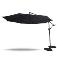 Aga Zahradní slunečník TURN 300 cm Dark Grey