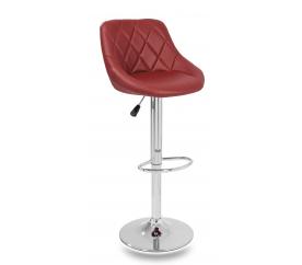 Aga Krzesło barowe Burgundy