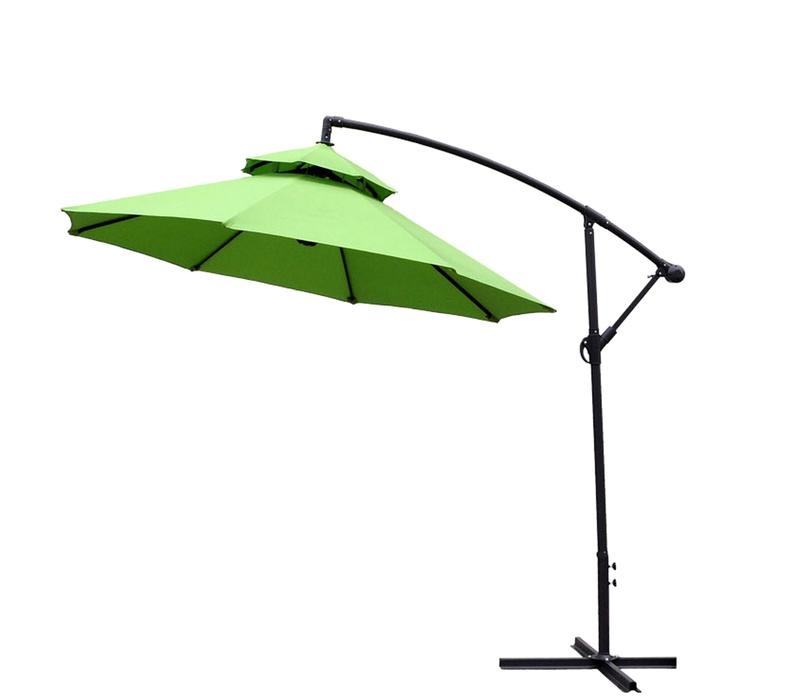 AGA Záhradný slnečník EXCLUSIV CUBE 250 cm Apple Green