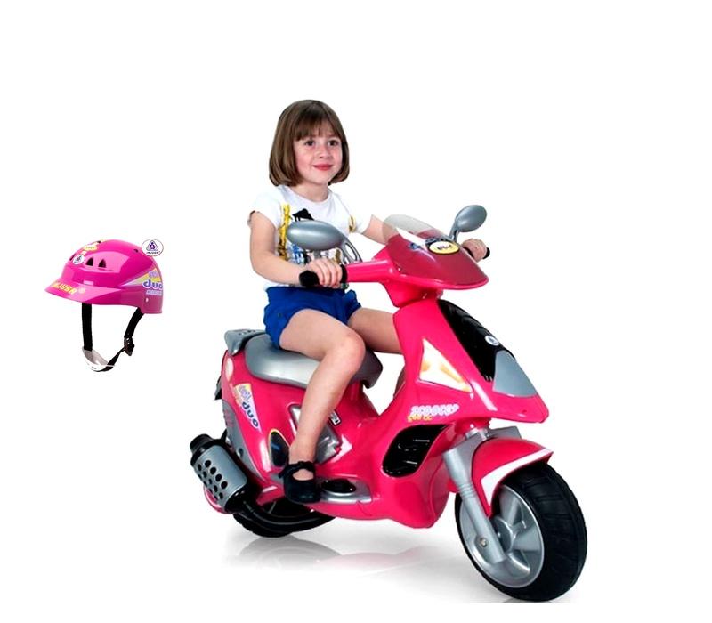 Injusa Elektrická motorka SCOOTER DUO GIRL 6V