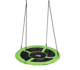 Aga Závesný hojdacia kruh 120 cm Zelený