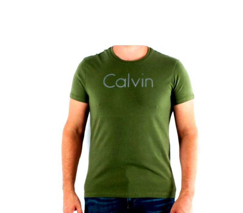CALVIN KLEIN Tričko cmp93p 9b2 Khaki