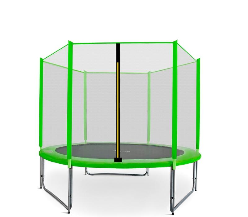 Aga SPORT PRO Trampolína 275 cm Light Green + ochranná síť 2018