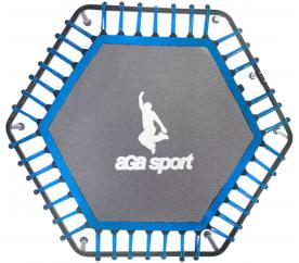 AGA Sprungmatte für Fitnesstrampolin 130 cm Blau