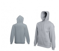 Fruit Of The Loom HOODED SWEAT Heather Grey